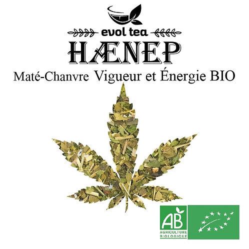 Maté-Chanvre Vigueur et Énergie BIO 50g