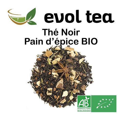 Thé Noir Pain d'épice BIO 100g