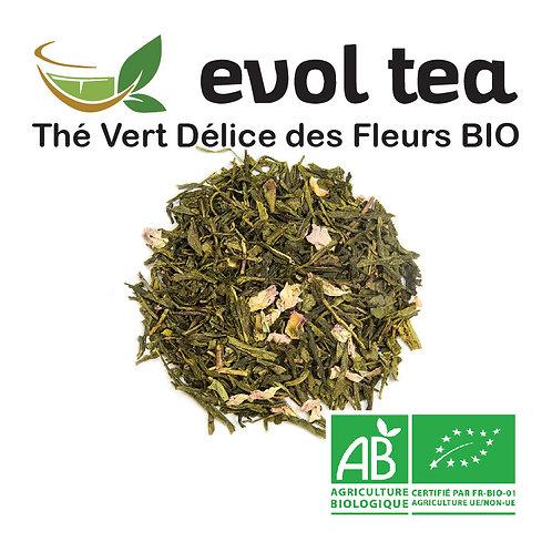 Thé Vert Délice des Fleurs BIO 100g