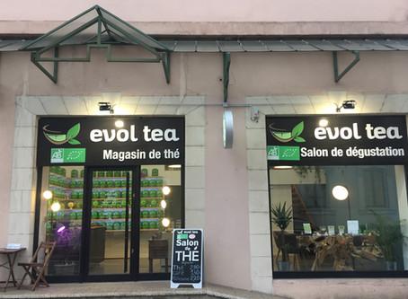 Premier Magasin de thé BIO à Chambéry