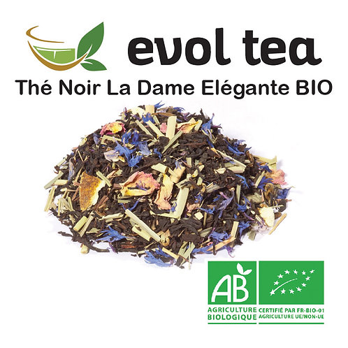 Thé Noir La Dame Elégante BIO 100g