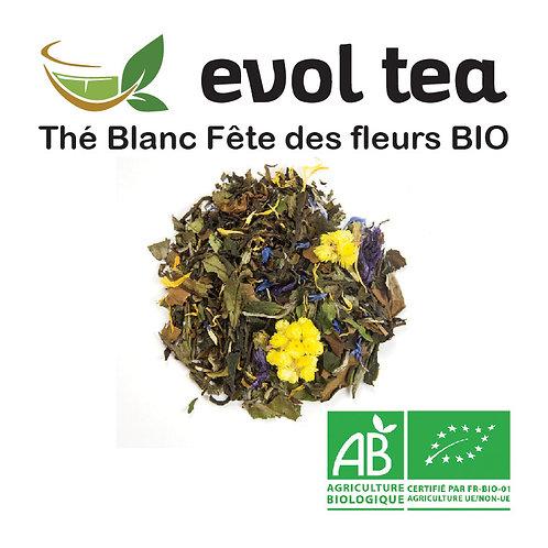 Thé Blanc Fête des fleurs BIO 100g