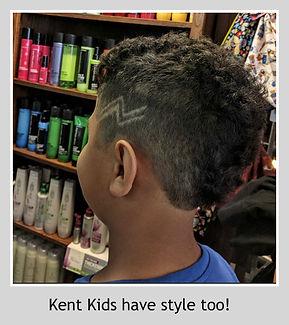 Kids cuts Kent State Style
