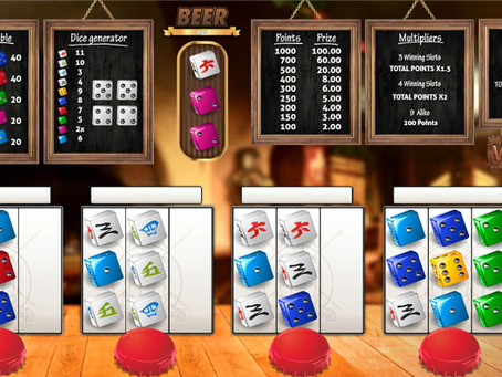 Beer Dice - Dice Game Review LuckyGames