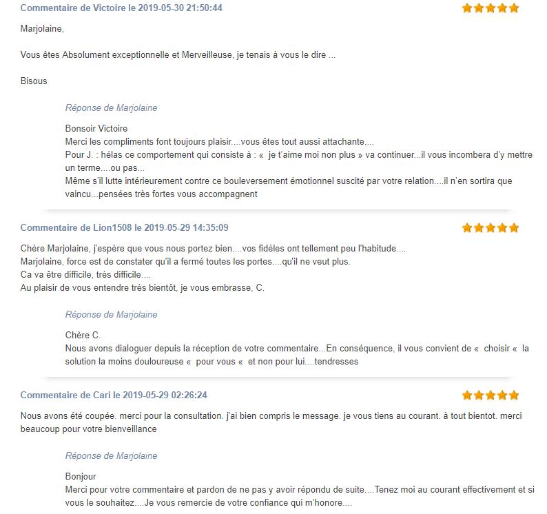 avis clients marjolaine 12voyance.png