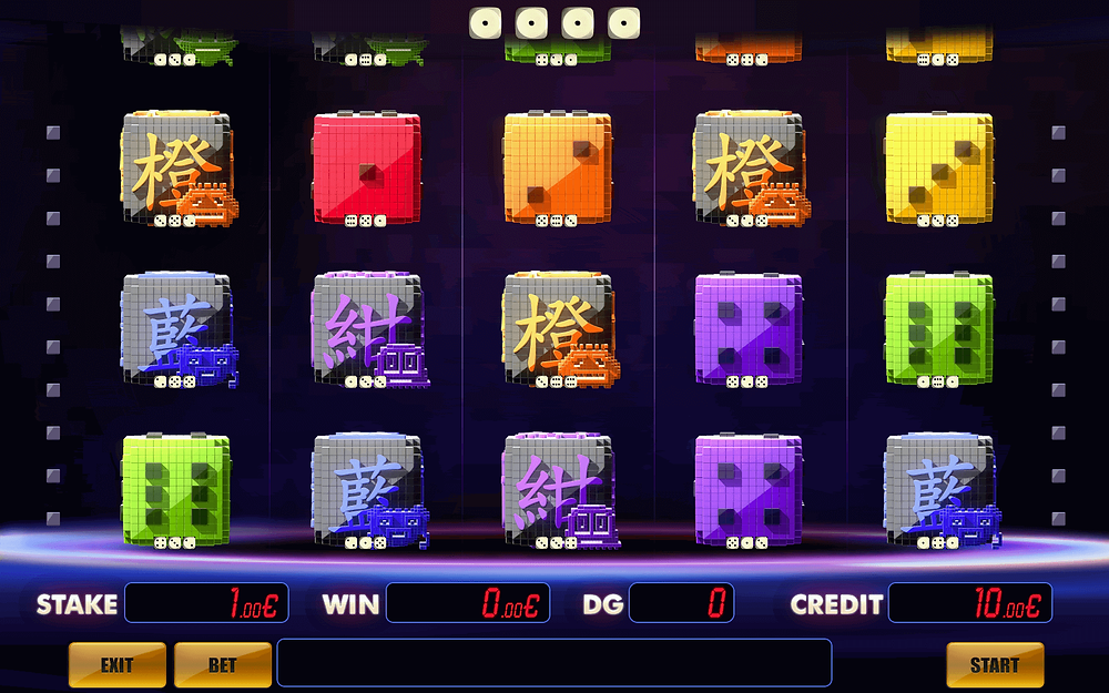Blog LuckyGames.be - E-Gaming Pixi Fall Dice Slot
