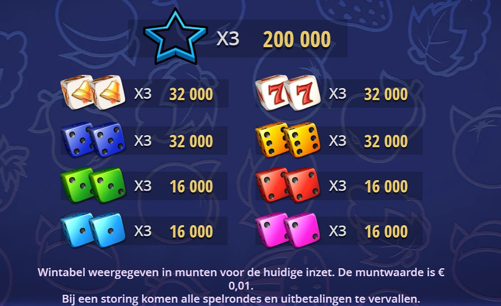 Luckygamesblog - Airdice Random Reels Dice Slot