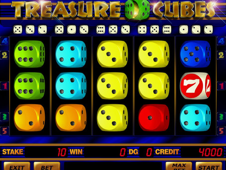 E-Gaming Treasure Cubes Diceslot Game Review LuckyGames