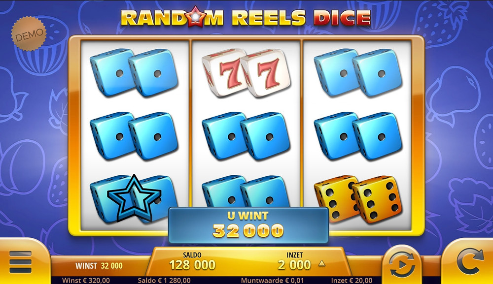 Blog LuckyGames.be - Airdice Random Reels Dice Slot