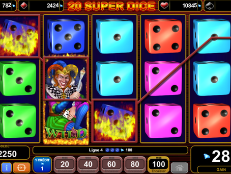 EGT 20 Super Dice Game Review LuckyGames