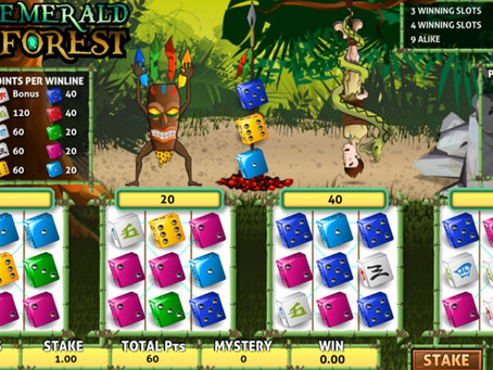 Emerald Forest Dice Game Wheel Review LuckyGames