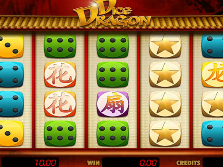 E-Gaming Dice Dragon Slot Game Review LuckyGames