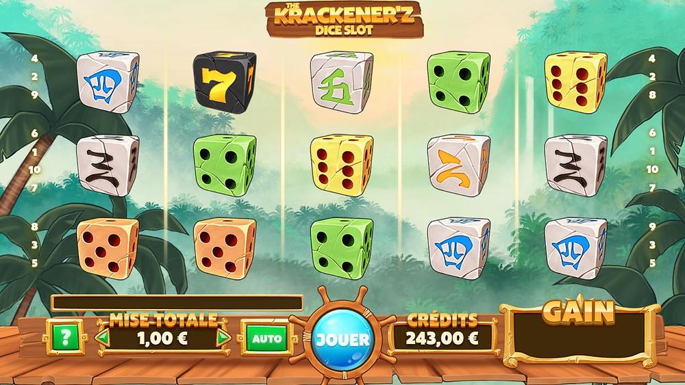 Blog LuckyGames.be - Gaming1 Krackener'z Slot Game Review