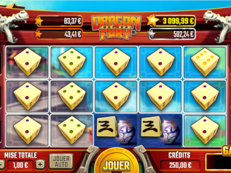 Dragon Fury Dice Slot Review - Luckygames