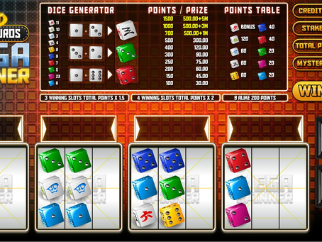 Mega Spinner Dice Game Review LuckyGames