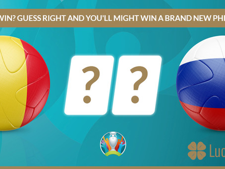 12.06 Belgique VS Russie - Tentez de gagner une TV LED Philips avec Lucky Games Casino