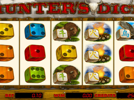 E-Gaming Hunter's Dice - Dice Slot Game Review LuckyGames