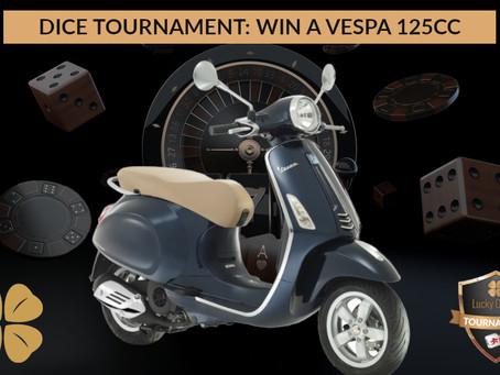 Remportez une Vespa 125cc ou une partie du prize pool de 2500€ !