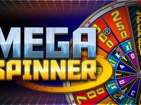 Gaming1 Mega Spinner Jackpot, remportez jusqu'à 25.000€