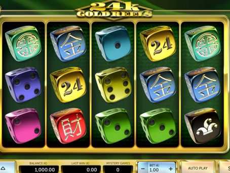 Airdice 24k Gold Wheel Dice Slot Game Review LuckyGames