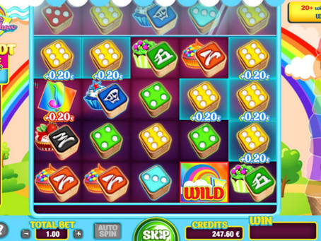 Cupcake Rainbow Dice Slot Game Review LuckyGames
