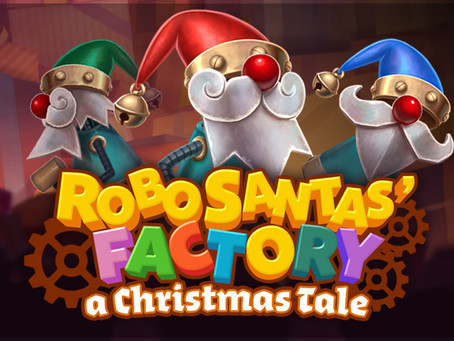 Gaming1 Robo Santa's Factory Dice Slot Review Luckygames