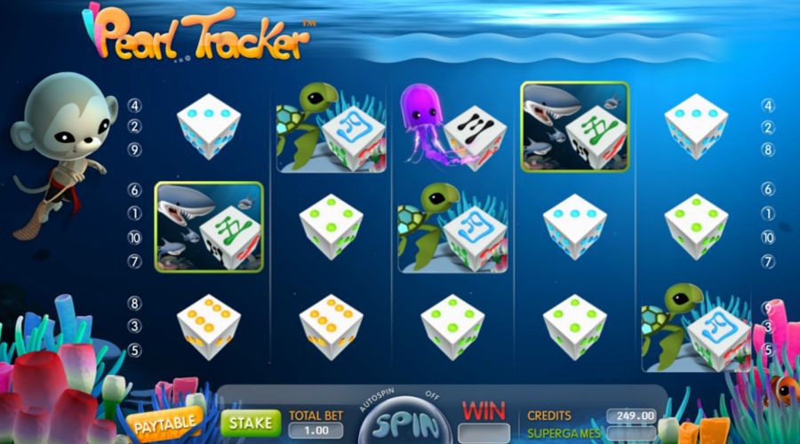 Blog LuckyGames.be - Gaming1 Pearl Tracker Dice Slot Review