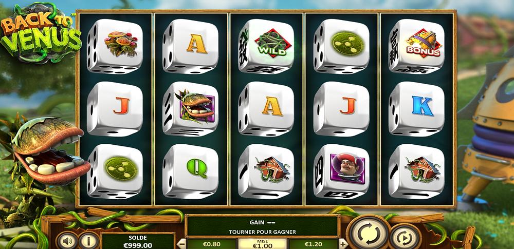 Betsoft Back To Venus Dice Slot Review - Luckygamesblog