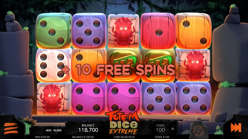 Blog LuckyGames.be - Airdice Random Reels Dice Slot