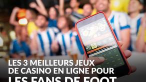 Les 3meilleurs jeux en ligne pour les fans de football