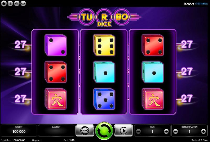 Kajot Turbo 27 Dice Slot - Casino Lucky Games