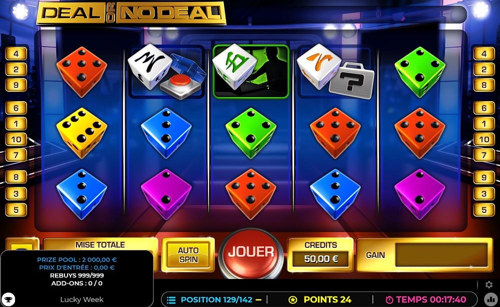 Trois raisons de participer à un tournoi de dice et slots sur Lucky Games Casino