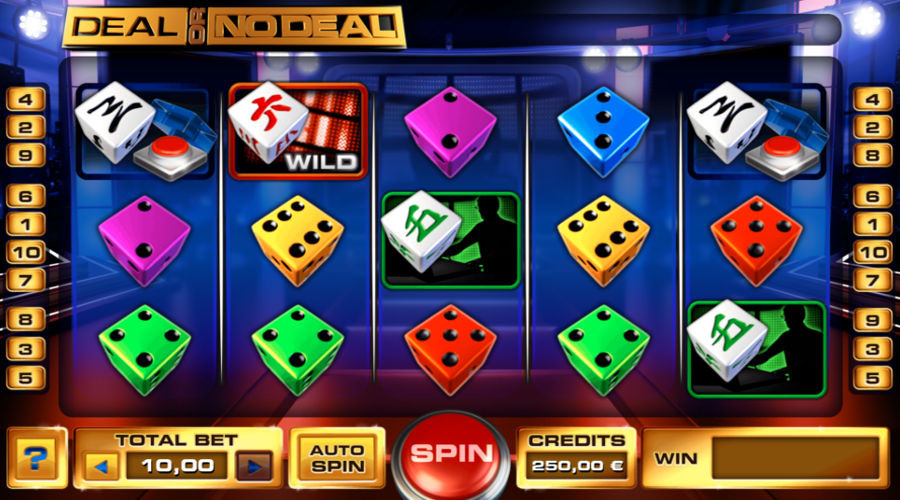 Blog LuckyGames.be - Gaming1 Deal Or No Deal Dice Slot Review