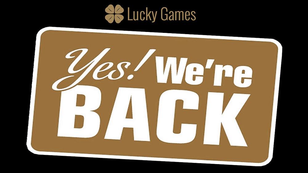 Blog LuckyGames.be - News Cyber attaque 23/06/2020