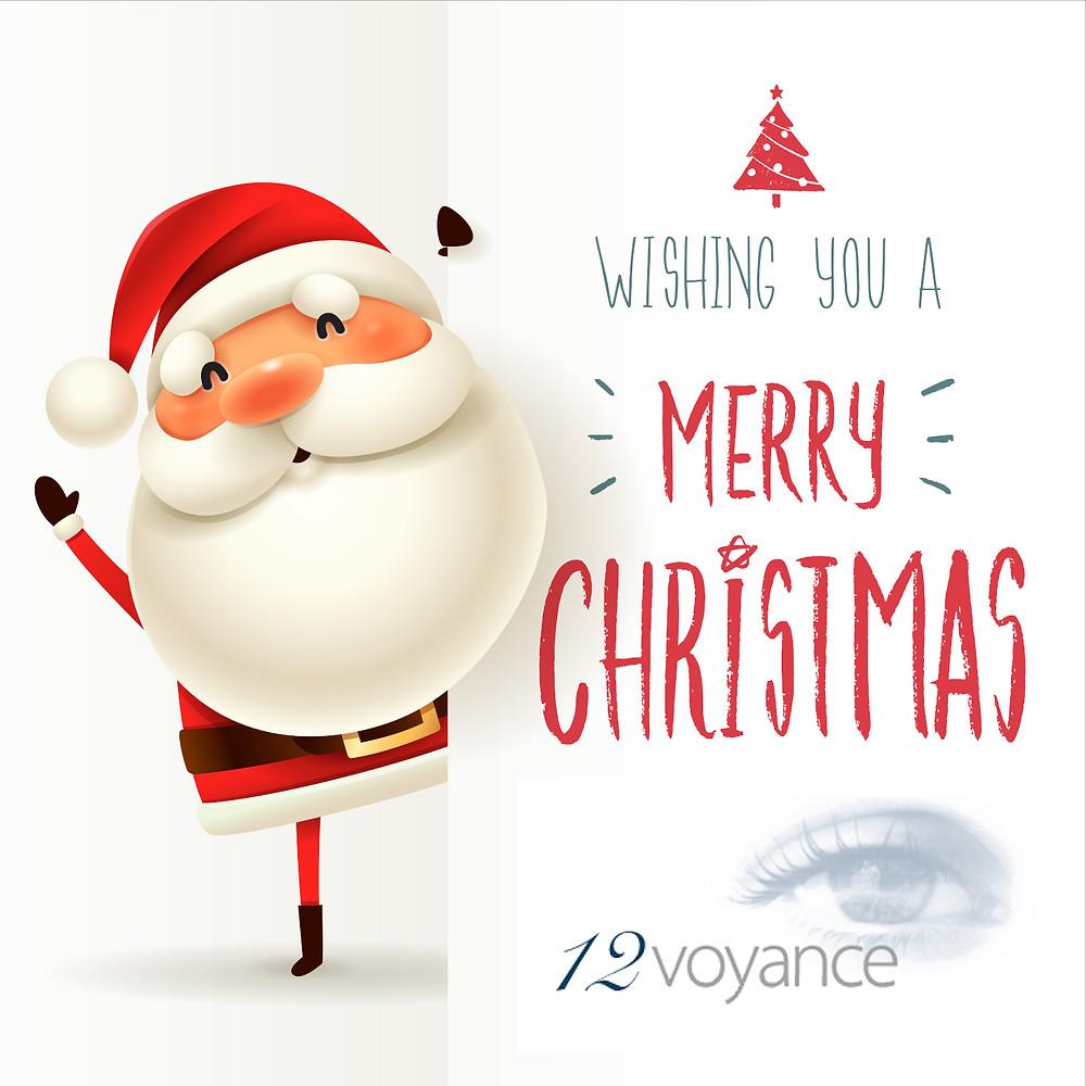 Blog 12Voyance -Joyeux Noël 2019