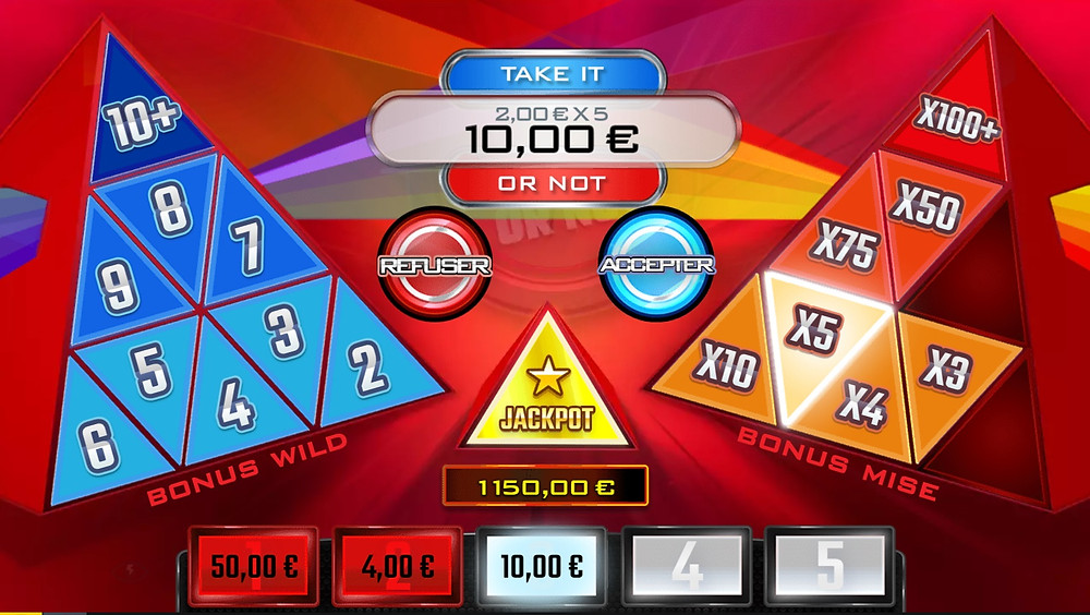 Blog LuckyGames.be - Gaming1 Take It Ot Not Dice Slot