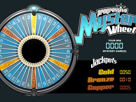 Mystery Progressive Jackpot Wheel Review LuckyGames