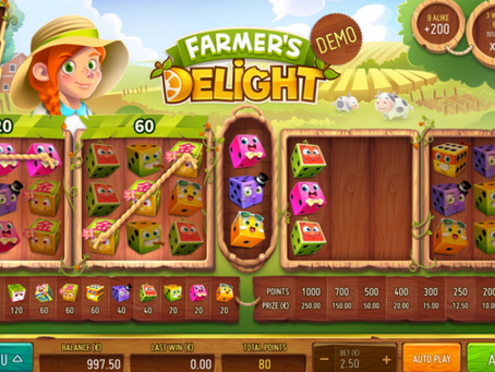 Farmer's Delight Dice Game Review LuckyGames