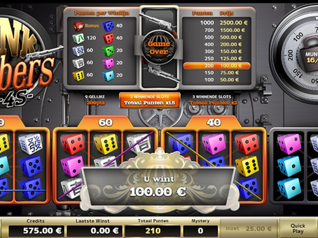 Bank Robbers Dice Game Review LuckyGames