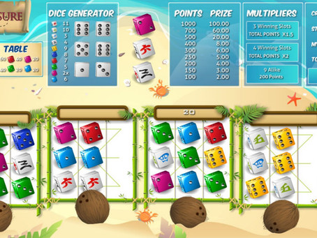 Treasure Dice - Dice Game Review LuckyGames