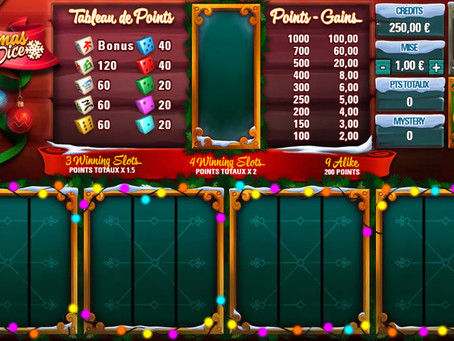 Christmas Dice Game Review Luckygames