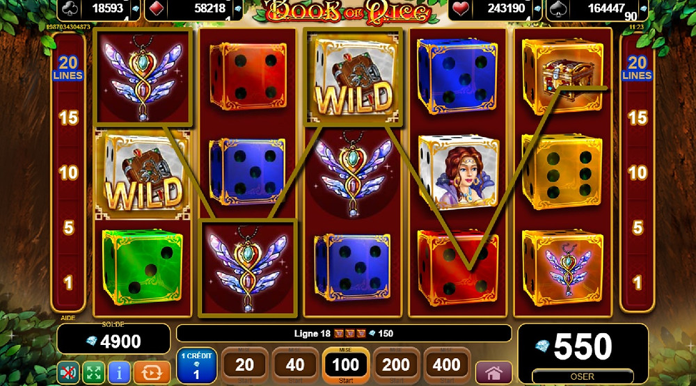 EGT Book Of Dice Slot Review - Blog Luckygames.be