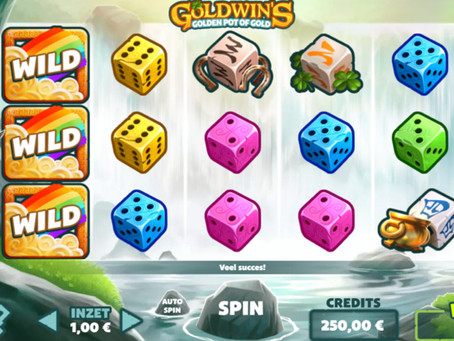 Goldwin's Pot Of Gold Diceslot Game Review Luckygames
