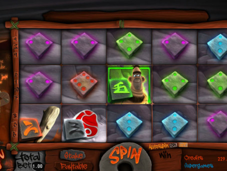 Caveman Stoney Diceslot Game Review LuckyGames