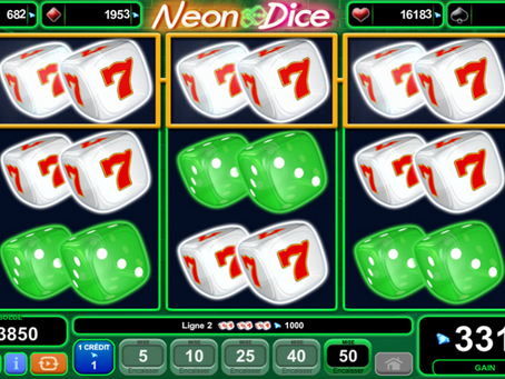 EGT Neon Dice Slot Game Review LuckyGames