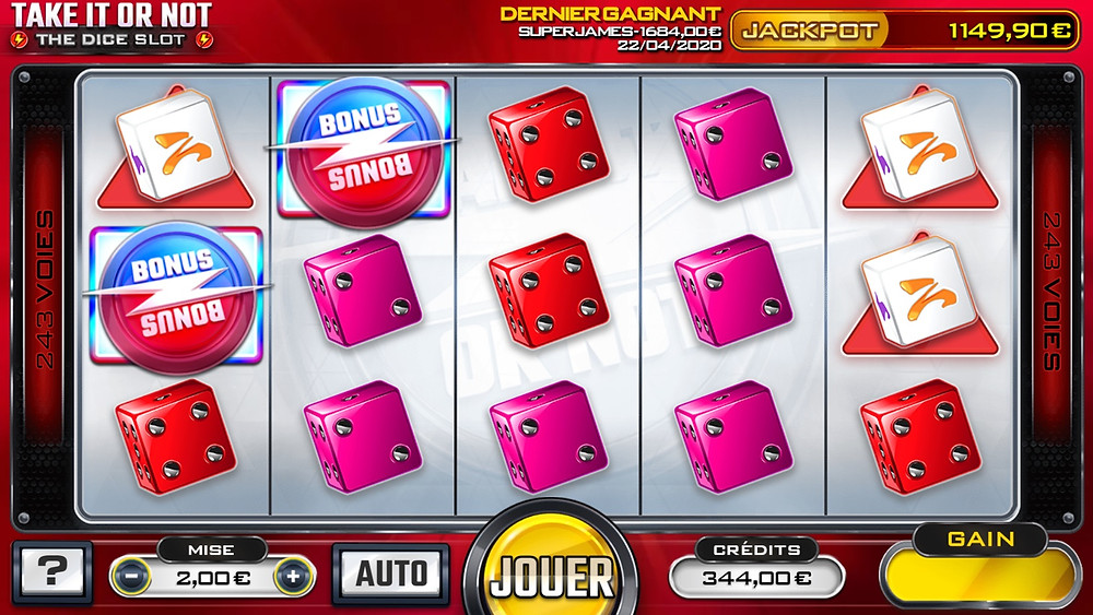 Blog LuckyGames.be - Gaming1 Take It Or Not Slot Game Review