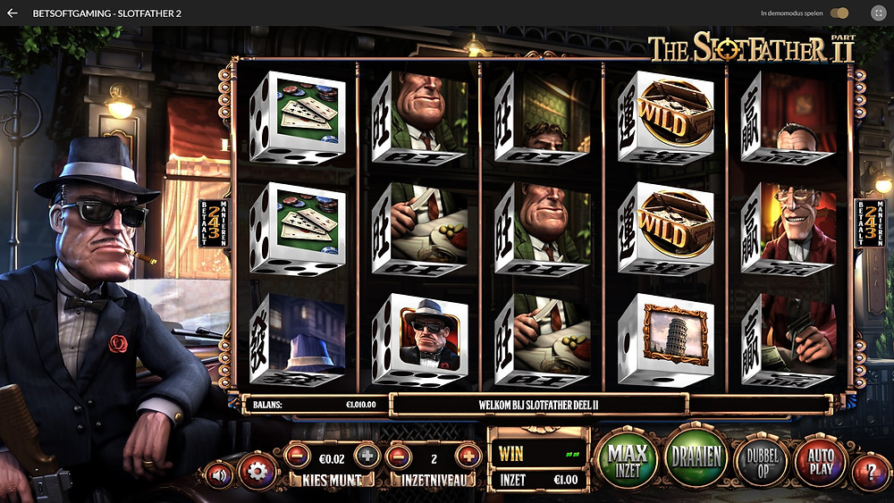 Betsoft The Slotfather Part II Dice Slot - Casino Lucky Games