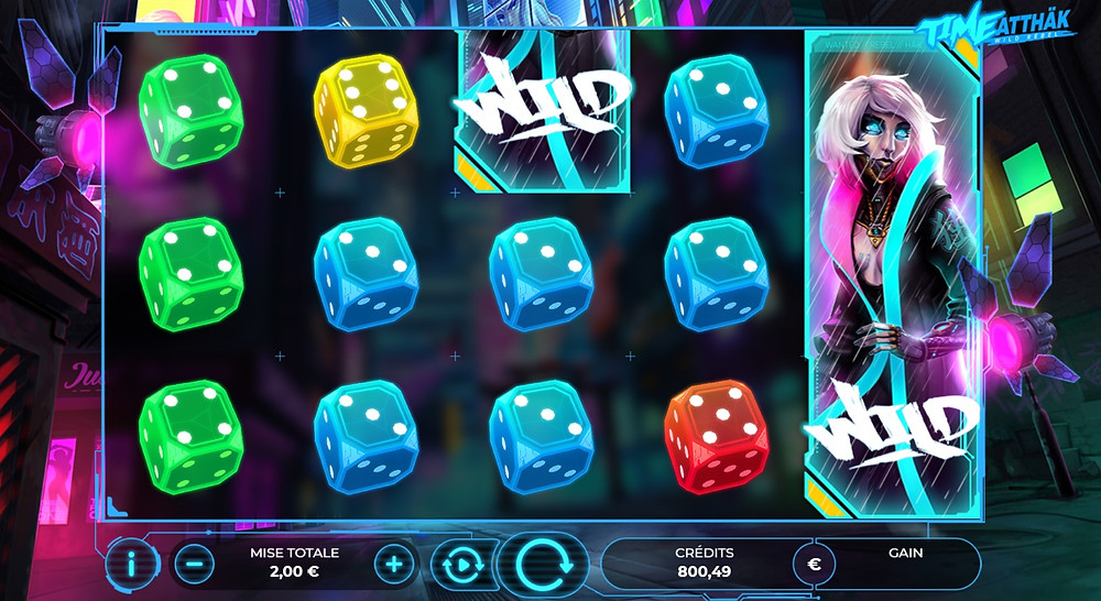 Blog LuckyGames.be - Gaming1 Time Atthak Dice Slot Review