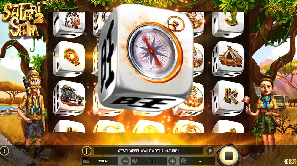Betsoft Safari Sam 2 Dice Slot - Casino Lucky Games
