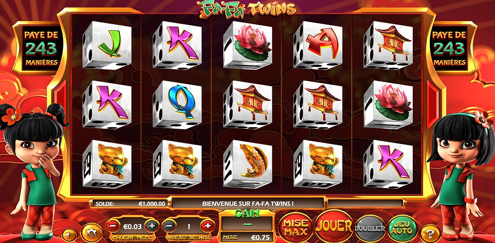Betsoft FaFa Twins Dice Slot - Casino Lucky Games